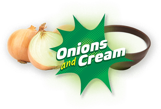 Onions and cream