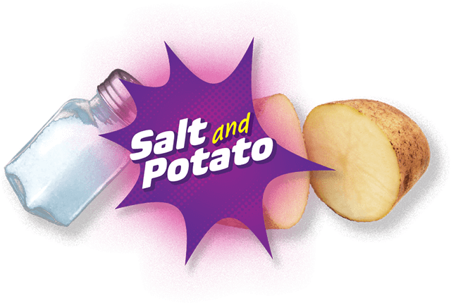 Salt and potato
